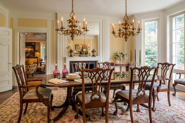18 Incredible Traditional Dining Room Designs Youll Love