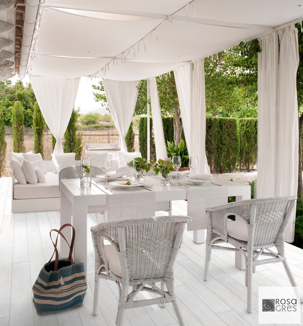 18 lovely mediterranean terrace designs that are perfect for Terrace white