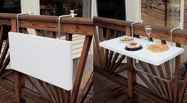 18 Creative Space Saving Ideas For Your Balcony That Everyone Need To See