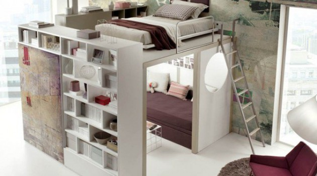 15 Functional Space-Saving Bed Solutions