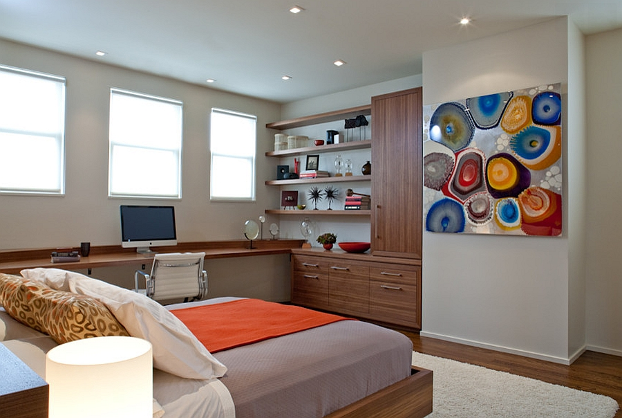 19 practical bedroom workspace ideas for small homes.