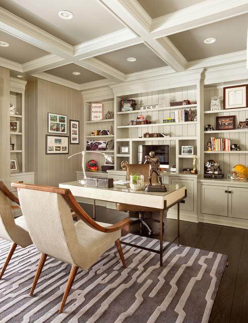 20 Outstanding Traditional Home Office Designs For A More Productive Day