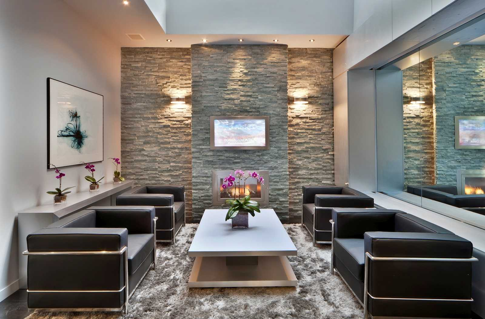 Stone Wall In Your Living Room- 9 Brilliant Ideas