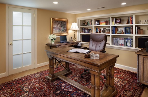 Home Office Layout Ideas Two Desks