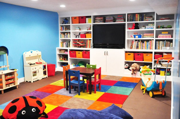 21 Functional Ideas For Childs Room Storage