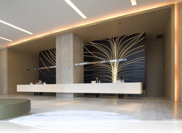 19 Spectacular Reception Desk Design Ideas
