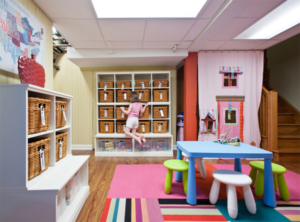 Transform Your Unused Basement Into Beautiful Playroom