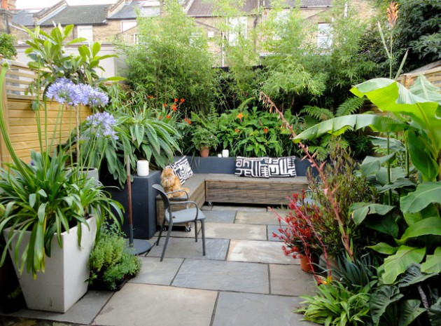 17 adorable design ideas for your small courtyard - Courtyard Design Ideas