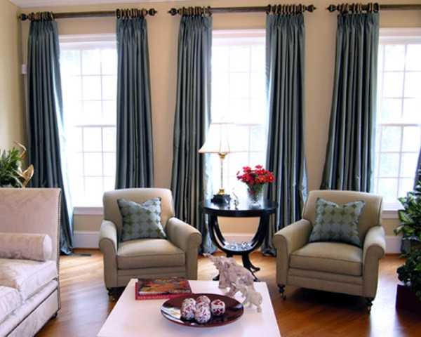 18 adorable curtains ideas for your living room for Living room drapes ideas