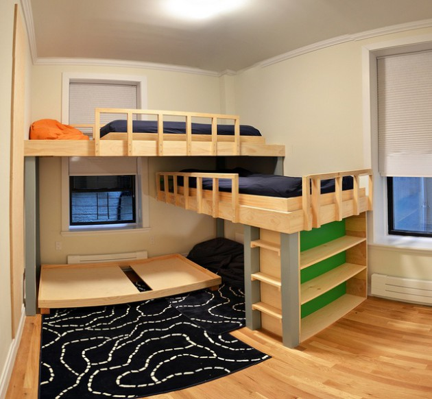 Top 19 Most Coolest Bunk Bed Design Ideas