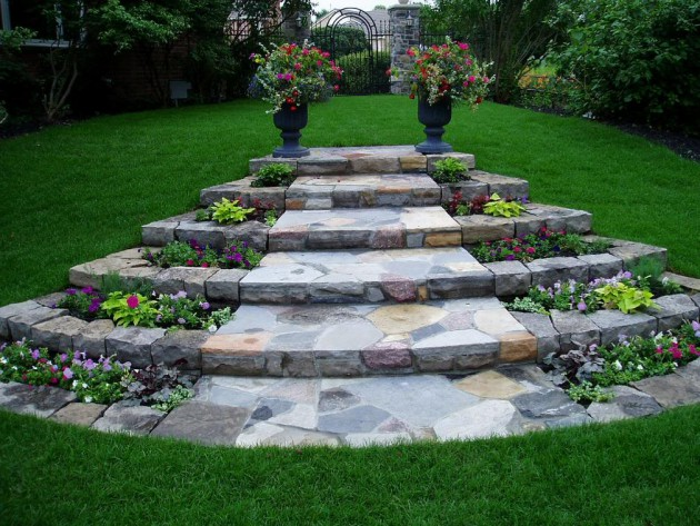 16 Striking Landscape Ideas To Beautify Your Backyard