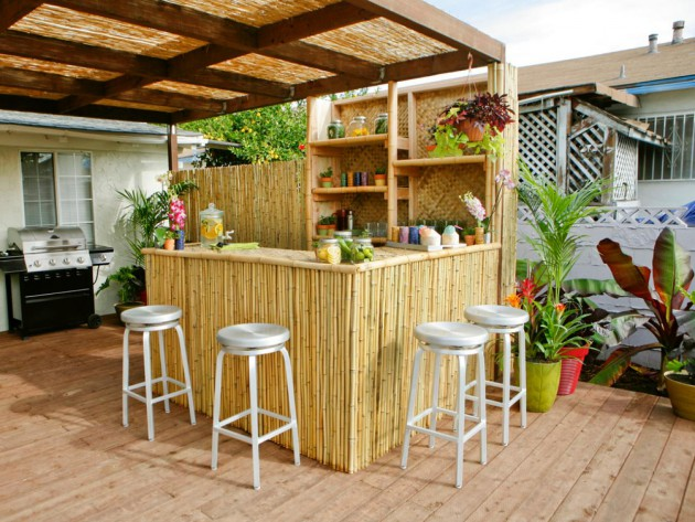 12 Fascinating Outdoor Bar Design Ideas on Bar Patio Ideas id=11518