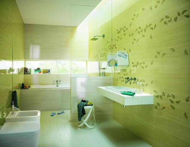 Brilliant Fresh Green Bathroom Design Ideas Largest Home Design Picture Inspirations Pitcheantrous