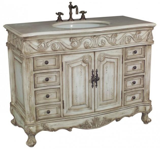 12 Ideas How To Repurpose Vintage Vanity In Your Modern Bathroom