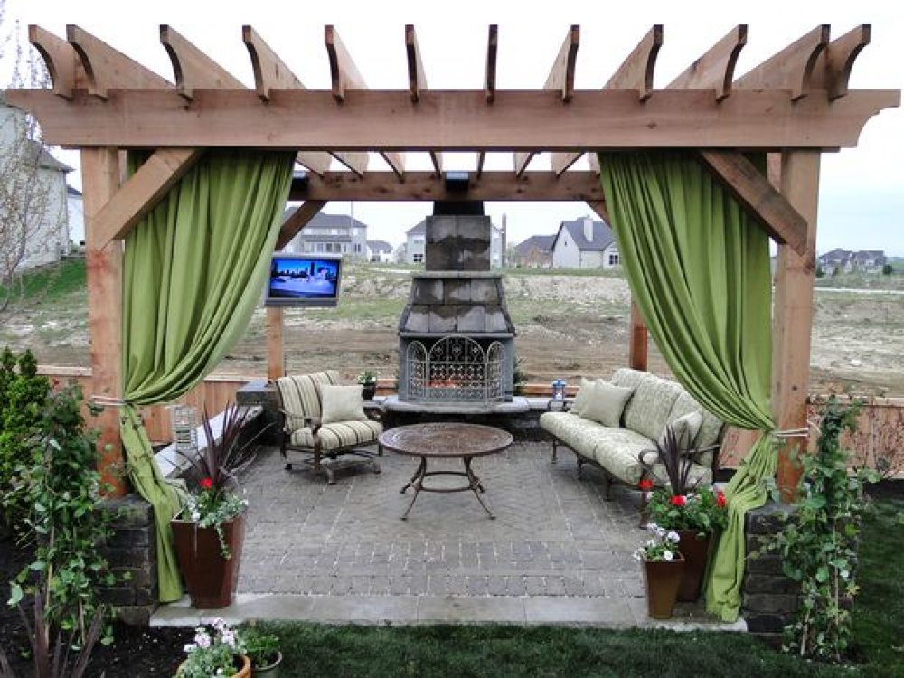 17 Engrossing Ideas To Make Your Yard More Enjoyable With Pergola With  Curtains - 17 Engrossing Ideas To Make Your Yard More Enjoyable With Pergola