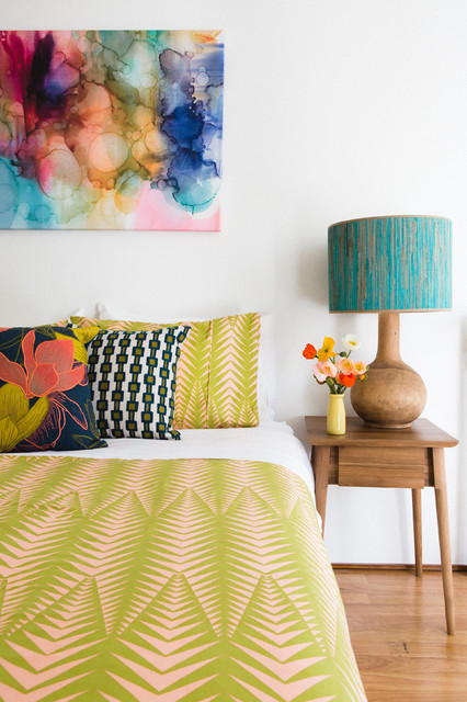 15 Lively Colorful Bedroom Designs To Enter Freshness In The Home