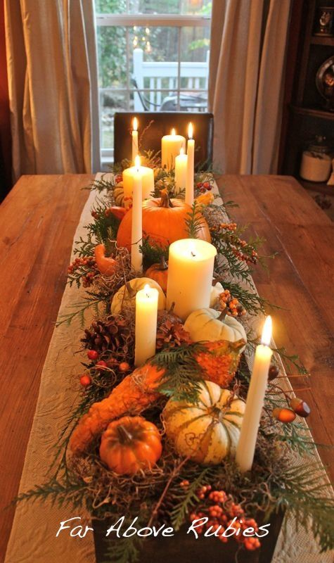 17 Fascinating Autumn Centerpiece Design Ideas