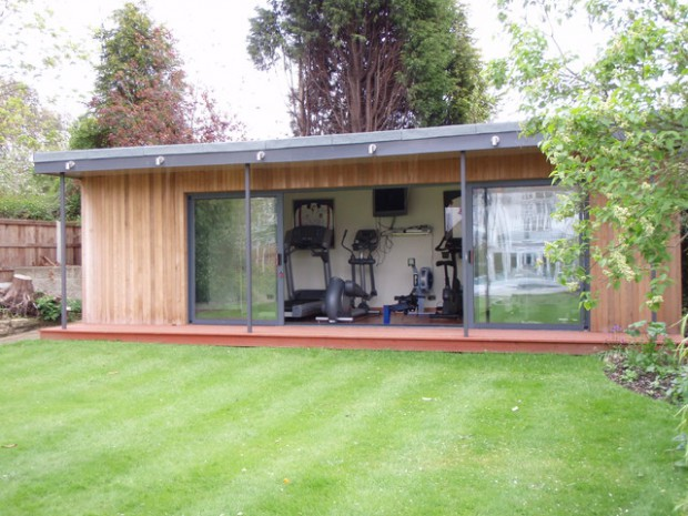 Small Shed Gym Ideas