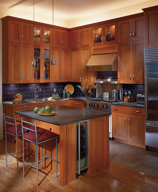 Cherry Wood Kitchen Cabinets: 16 Classy Kitchen Cabinets Made Out Of Cherry Wood