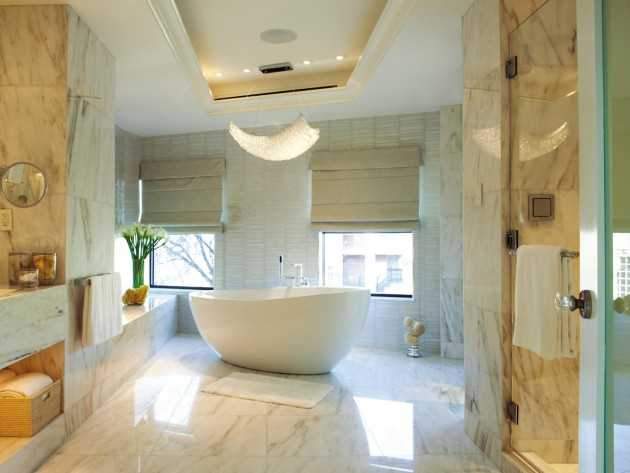 16 Fascinating Marble Bathroom Ideas That Everyone Will Like