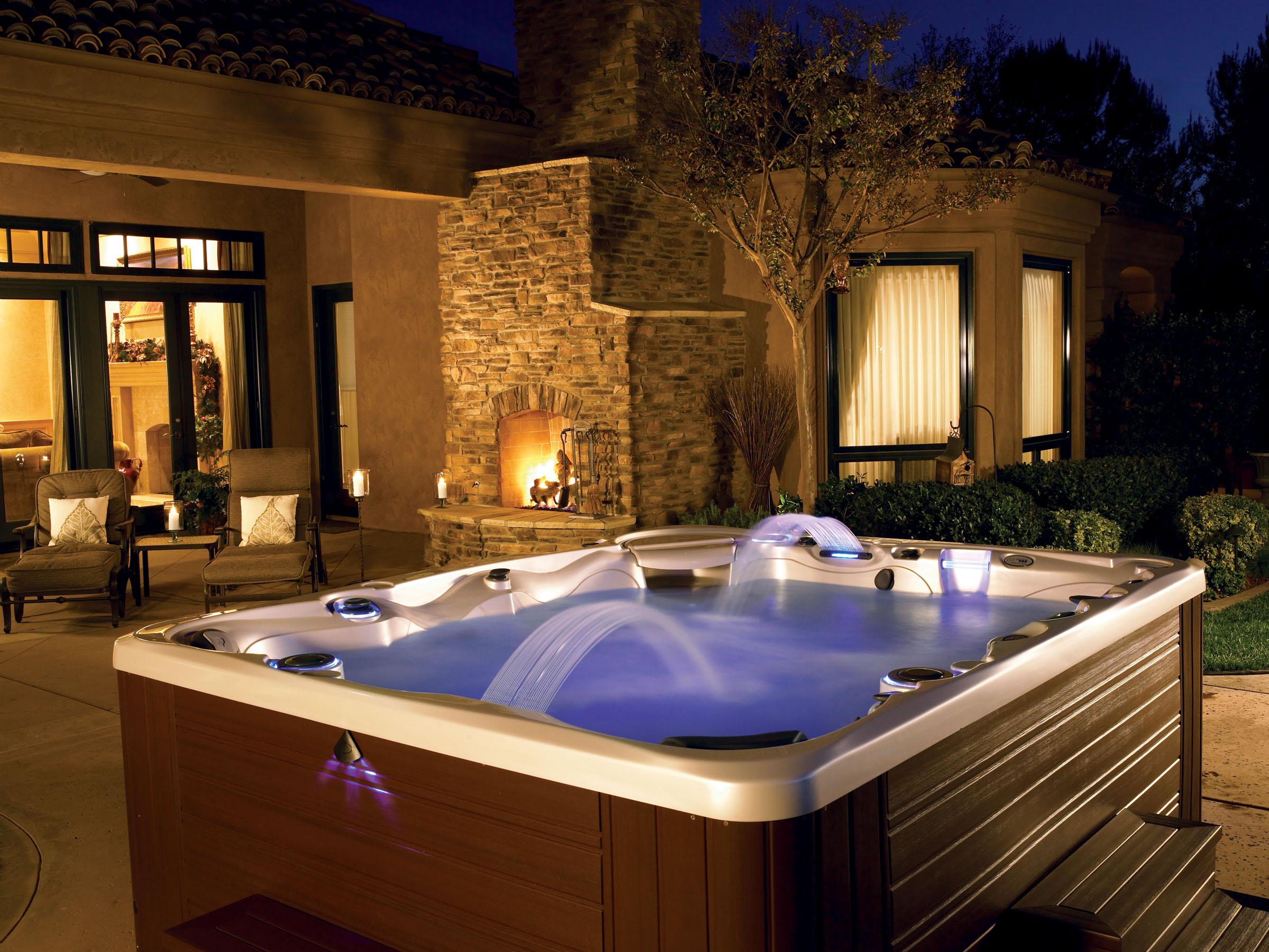 17 divine outdoor tubs for real enjoyment for Spa design exterieur