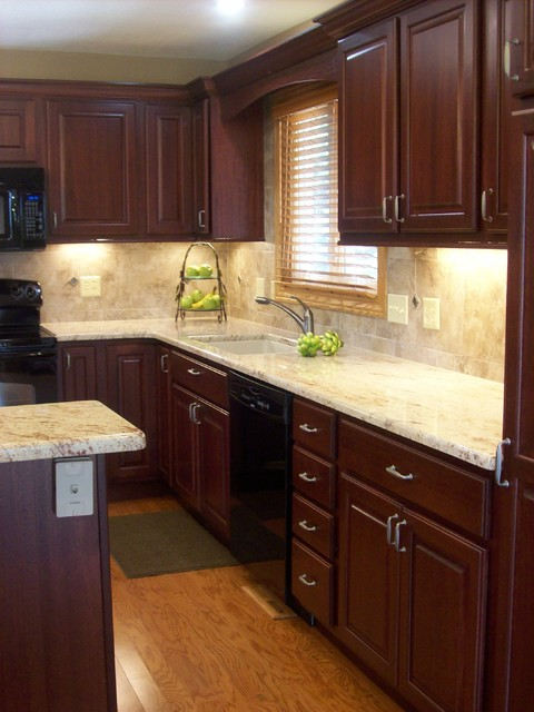 16 classy kitchen cabinets made out of cherry wood - Cherry Wood Kitchen Cabinet