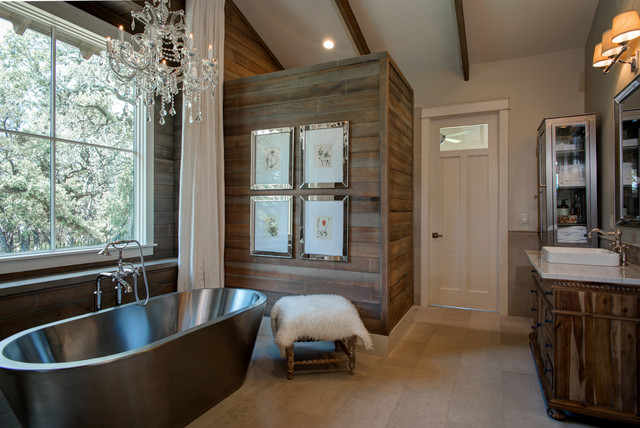 15 Outstanding Rustic Bathroom Designs That You're Going To Love