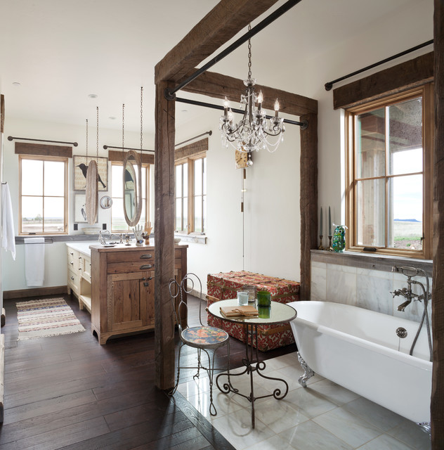 outstanding yellow bathroom designs | 15 Outstanding Rustic Bathroom Designs That You're Going ...