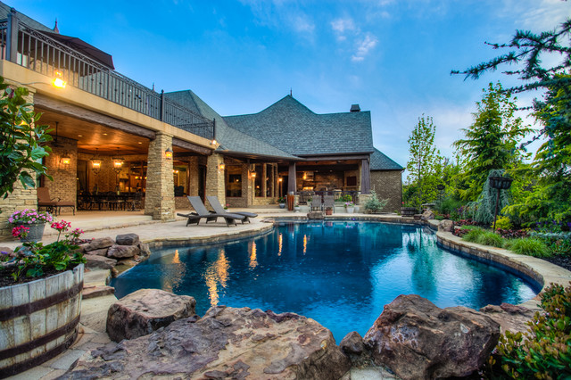 15 Sensational Rustic Swimming Pool Designs That Will Take