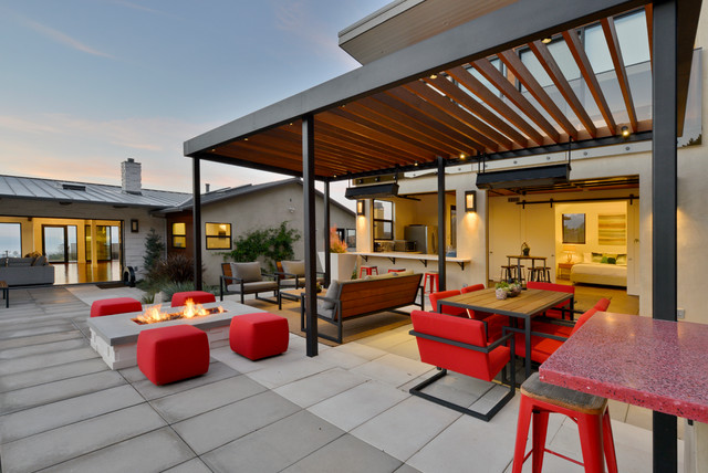 15 Wonderful Contemporary Patio Designs To Enjoy During The Sunny Days
