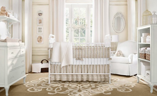 Decorating Nursery Room For Baby Girl