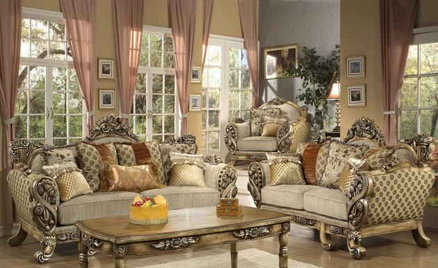 Timeless Antique Living Room Design Ideas