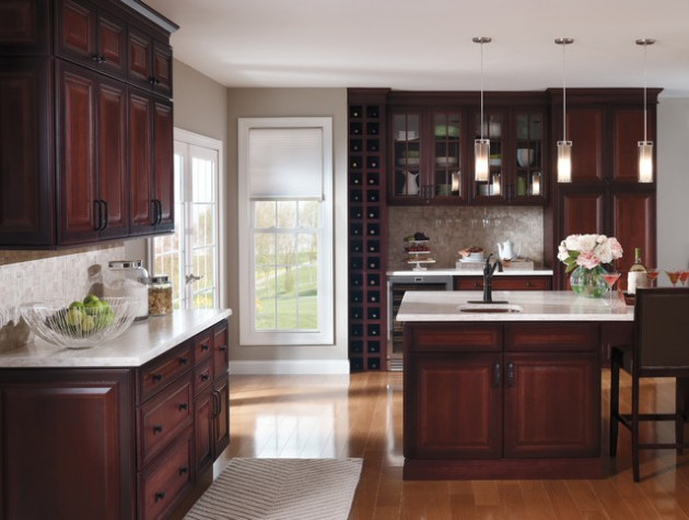 cherrywood kitchen cabinets 16 kitchen cabinets made out of cherry wood 13525