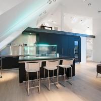 16 Functional Attic Kitchen Design Ideas