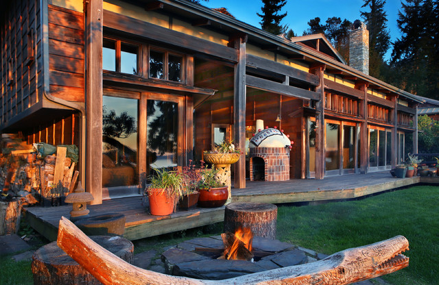 17 Breathtaking Rustic Patio Designs That Will Instantly Chill You Down