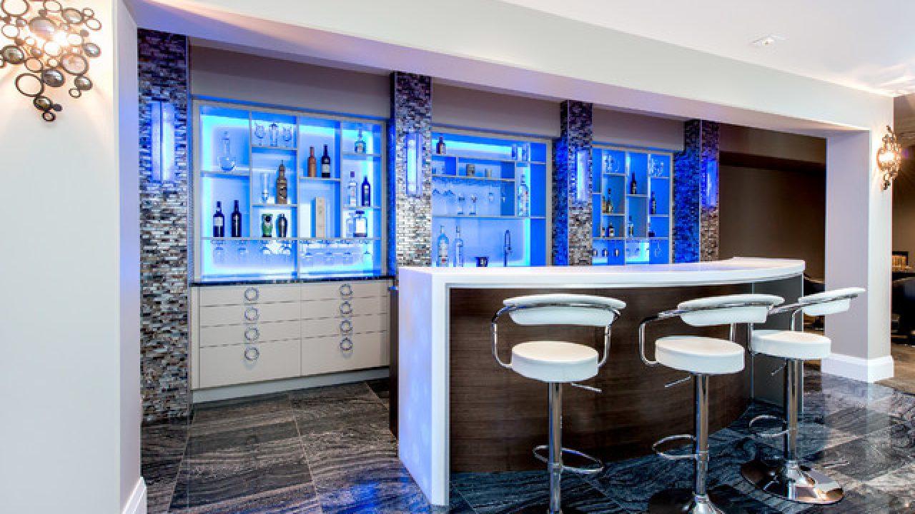 17 Incredible Contemporary Home Bar Designs You Re Going To Enjoy