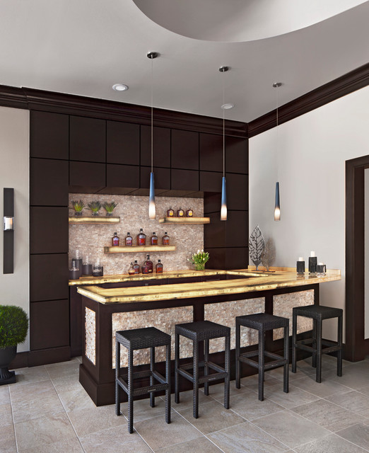 Home Design Ideas Decorating: 17 Incredible Contemporary Home Bar Designs You're Going
