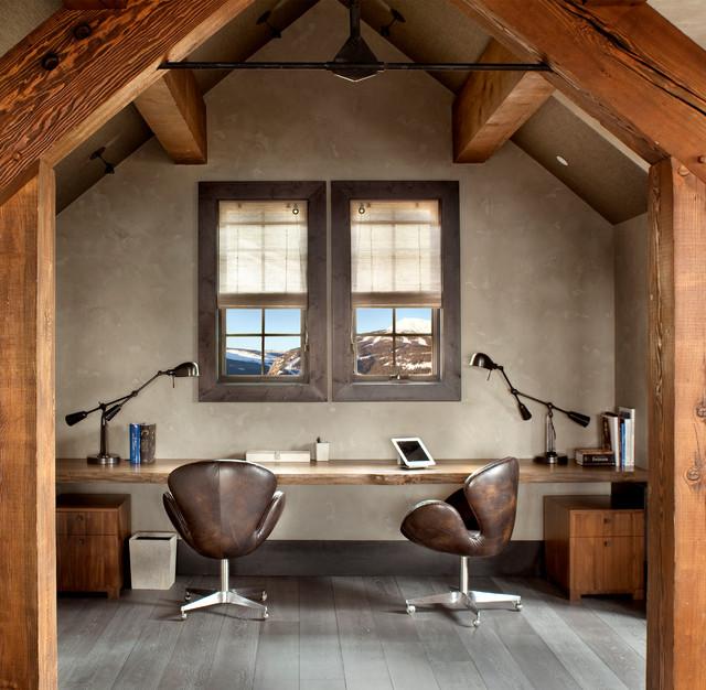 Wood Study Desk