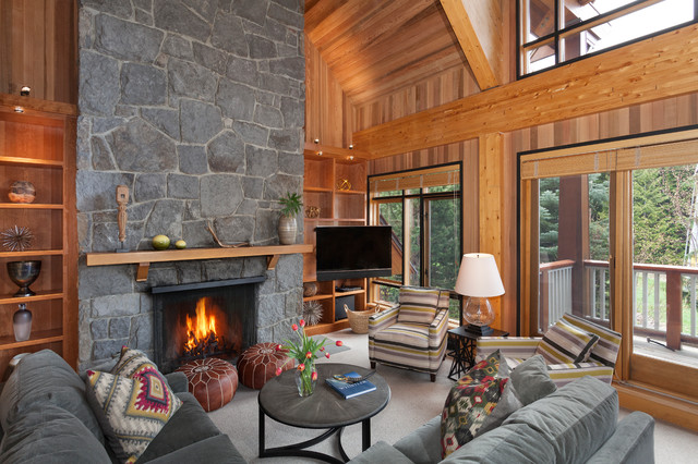 17 Mind Blowing Rustic Living Room Designs For The Ultimate Enjoyment