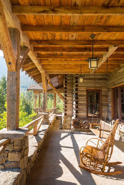 Rustic Living Room: 17 Welcoming Rustic Porch Designs Your Home Could Use