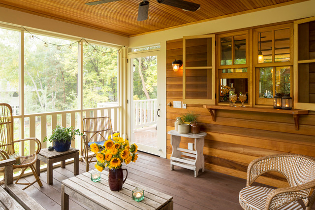 17 Welcoming Rustic Porch Designs Your Home Could Use