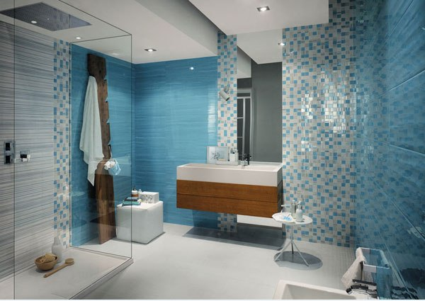 18 Beautiful Ideas For Modern Tiles In The Bathroom