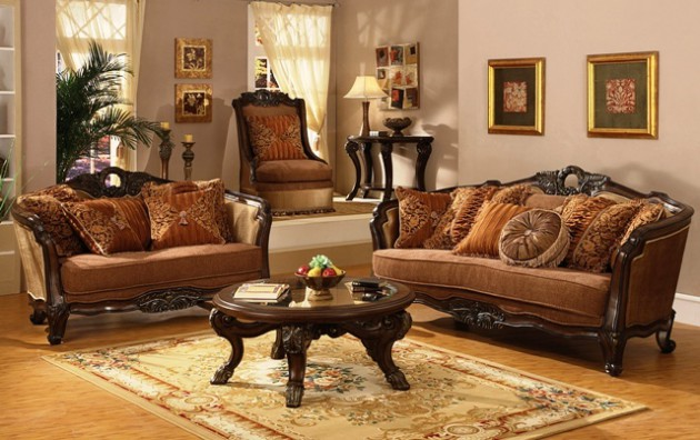 Timeless Antique Living Room Design Ideas