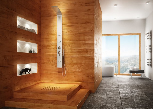 Wood In The Bathroom  18 Beautiful Examples