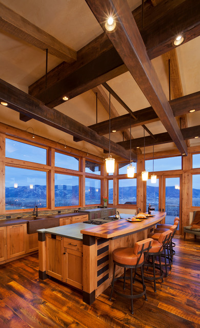 18 Exceptional Rustic Kitchen Designs Youll Enjoy Cooking In