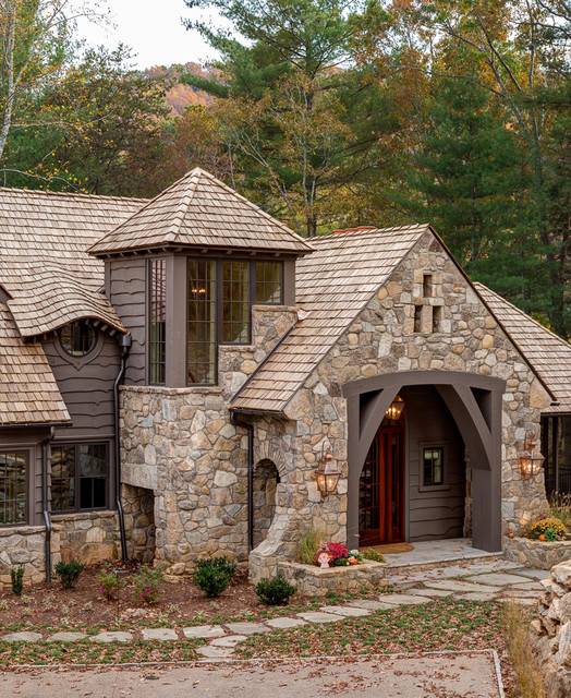 18 Fascinating Rustic Residence Exterior Designs That Will Make Your Jaw Drop