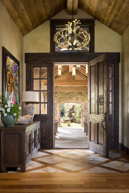 18 Inviting Rustic Entry Designs For A Pleasant Welcome