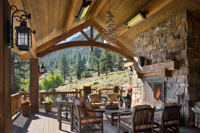 18 Startling Rustic Deck Designs To Enjoy The Outdoors On