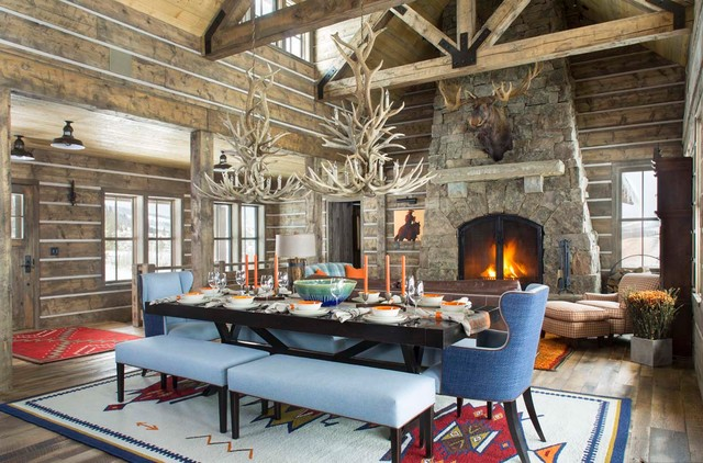 19 Incredible Rustic Dining Room Designs That Will Inspire You