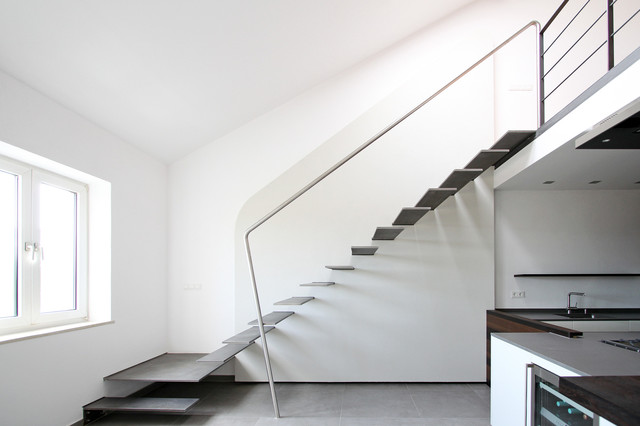 19 Splendid Contemporary Staircase Designs Youre Going To Fall For